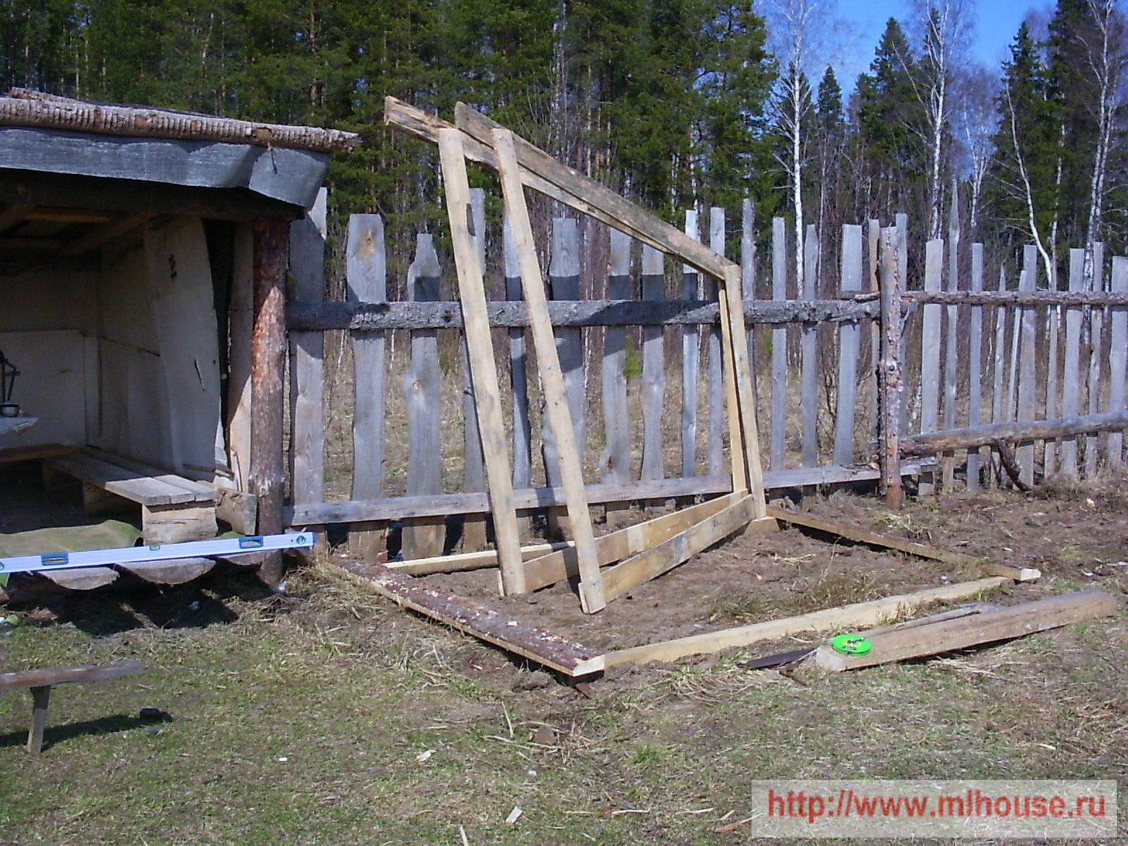 Сарай своими руками: каркасный, деревянный, пошагово, фото, видео 27