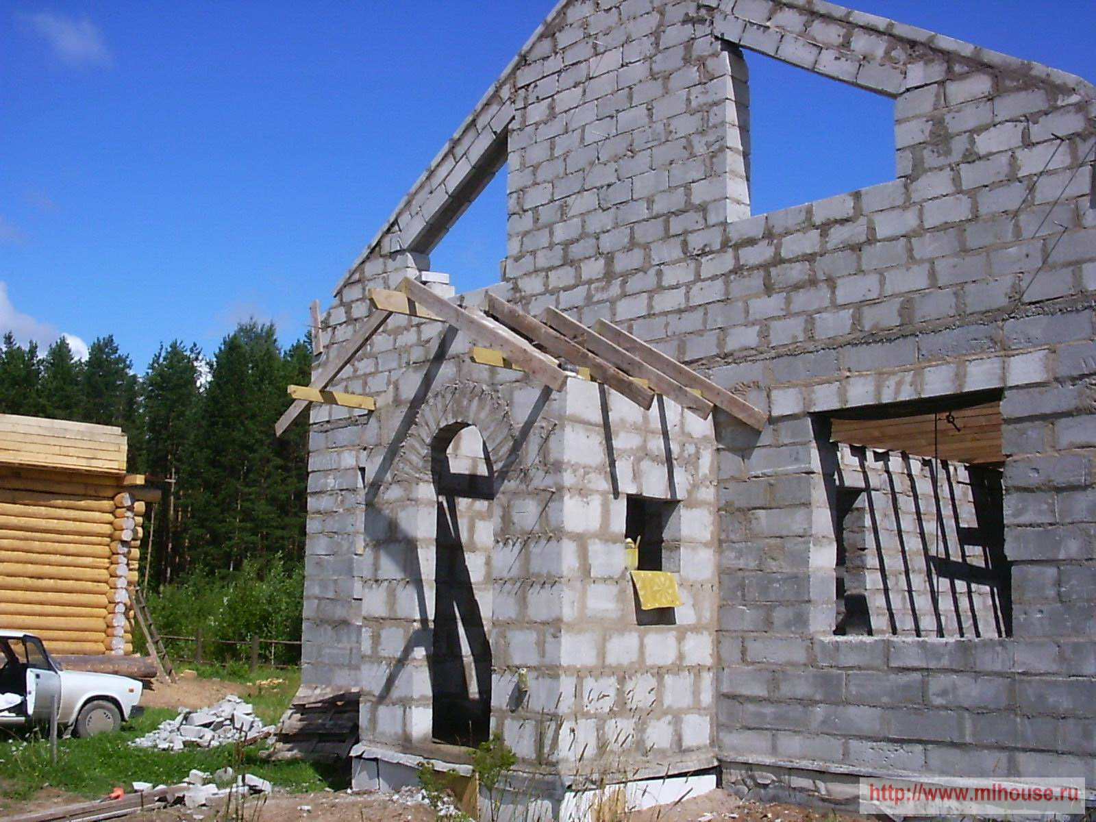 Крыльцо дома из кирпича: фото крыльца кирпичного дома 3