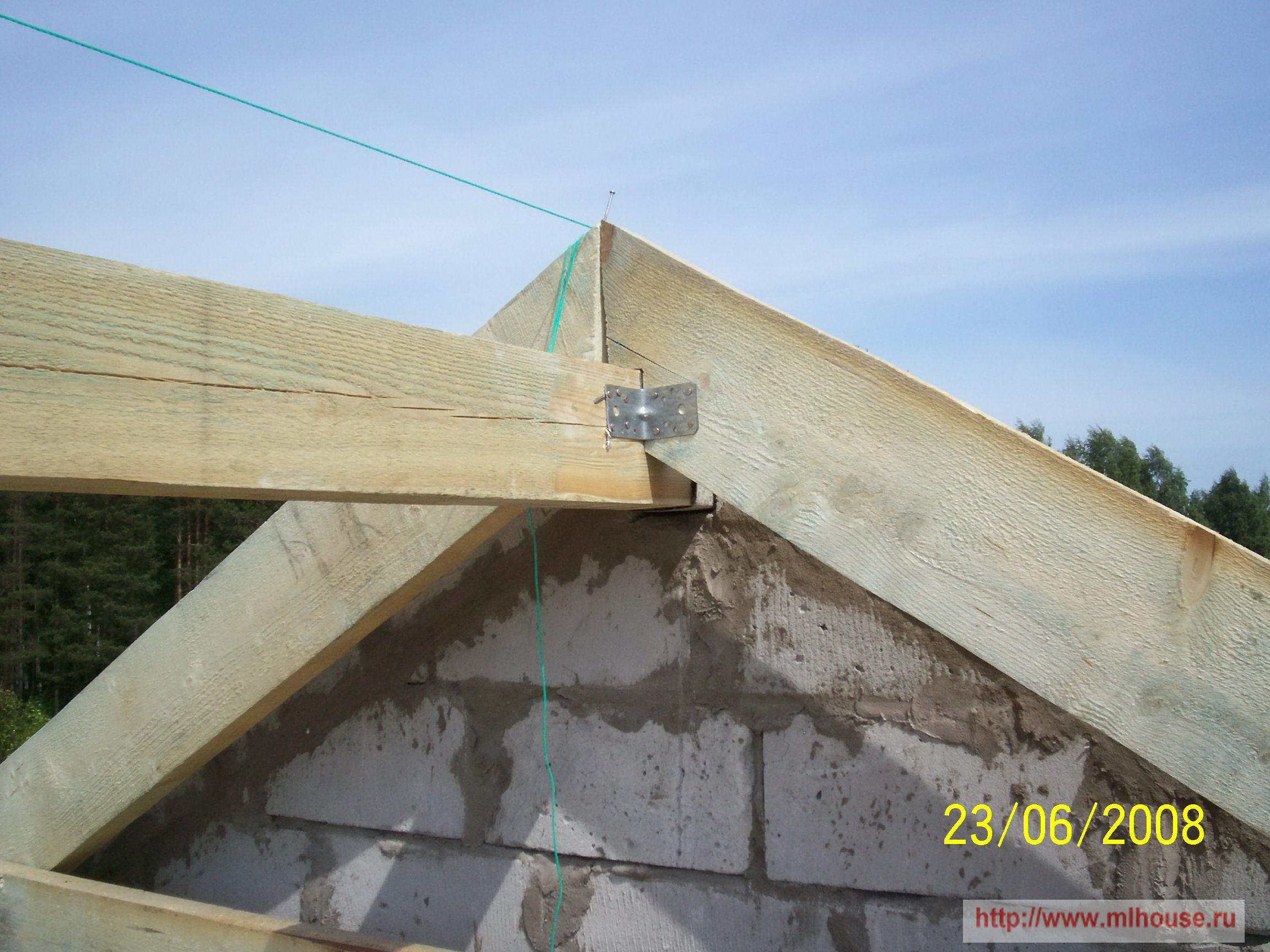 Крыша дома своими руками: как сделать самому