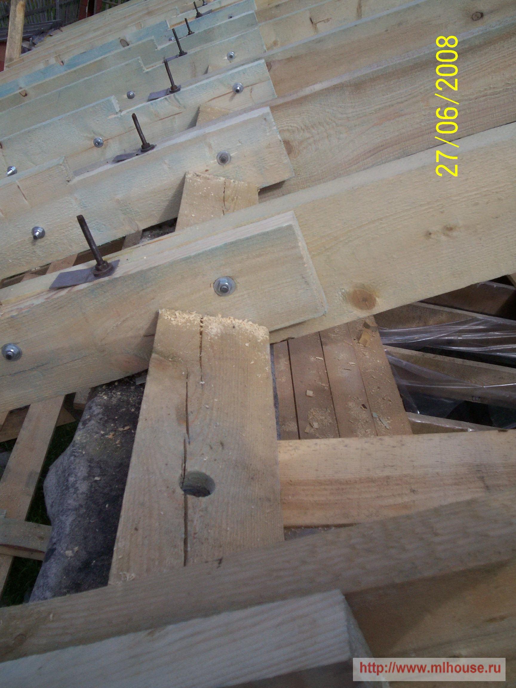 Строим дом своими руками крыша