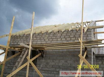 Строительство крыши своими руками.