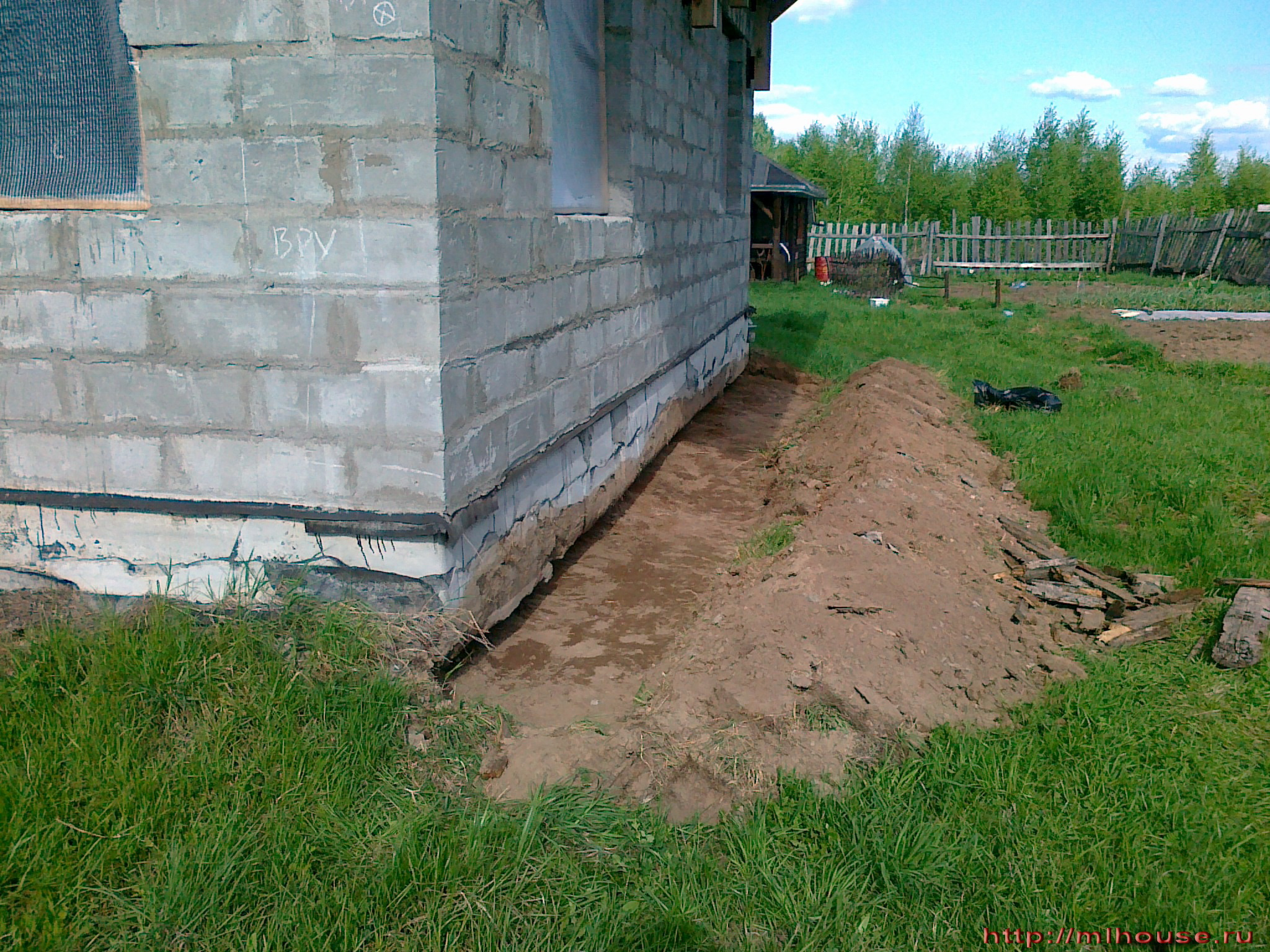 Разметка фундамента под дом своими руками, лазерный 53