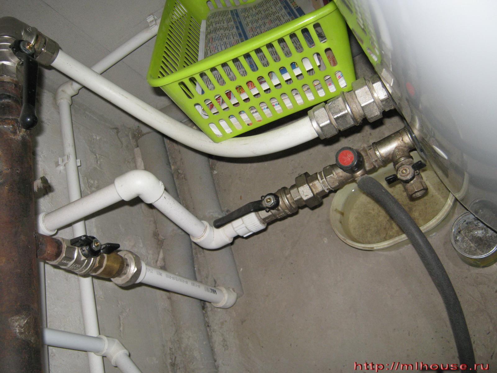Как сделать горячее водоснабжение в частном доме своими руками