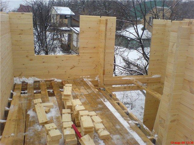 Постройка дома из бруса своими руками подробная
